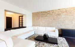 Внутренняя роскошная квартира стоковое фото rf