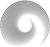 Внутренняя спираль прямоугольников Абстрактный элемент геометрического дизайна бесплатная иллюстрация