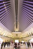 Внутренняя станция всемирного торгового центра: Birlliant и торжественное Стоковая Фотография RF