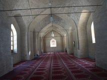 Внутренняя старая мечеть в городке Balkh, Афганистане стоковая фотография
