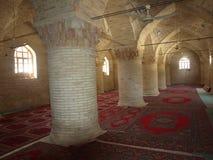 Внутренняя старая мечеть в городке Balkh affricates Стоковые Фото