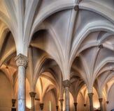 Внутренняя старая мечеть Стоковая Фотография RF