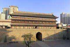 Внутренняя сторона павильона changle на стене города xian Стоковая Фотография RF