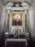 Внутренняя церковь Стоковые Фотографии RF