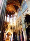 Внутренняя церковь Стоковое фото RF