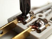 Внутренняя электрическая штепсельная вилка Стоковые Фотографии RF