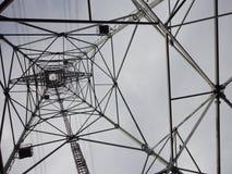 Внутри башни передачи Стоковые Изображения RF