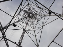 Внутри башни передачи Стоковая Фотография RF