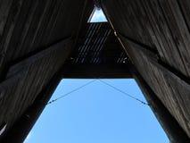 Внутри башни Oak Ridge взбираясь Стоковые Фотографии RF