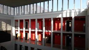 Внутри библиотеки Стоковое Изображение RF