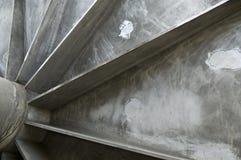 Внутри большого вьюрка металла Стоковое фото RF
