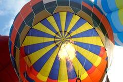 Внутри воздуха воздушного шара горячего Стоковые Изображения