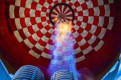 Внутри воздушного шара Стоковые Изображения