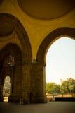 Внутри ворот к Индии, Мумбай, Индия Стоковые Изображения RF