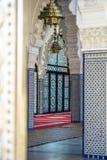 Внутри дворца Стоковое Изображение