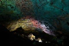 Внутри вулкана Стоковые Изображения RF