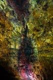 Внутри вулкана Стоковая Фотография RF
