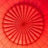 Внутри горячего воздушного шара Стоковая Фотография RF
