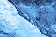 Внутри детали ледника Стоковое Изображение