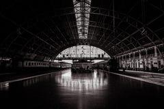 Внутри железнодорожного вокзала Бангкока Hua Lamphong стоковые фото