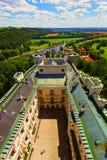 Внутри замка Hluboka nad Vltavou, чехия стоковое фото rf