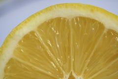 Внутри лимона Стоковое Изображение