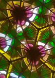 Внутри калейдоскопа Стоковое Изображение