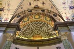 Внутри комнаты украшает в стиле XIX века Стоковое Изображение RF