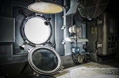 Внутри корабля войны стоковая фотография rf