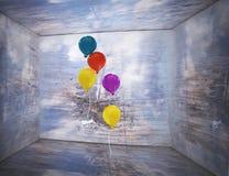 Внутри коробки Стоковые Фотографии RF