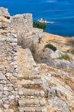 Внутри крепости Palamidi Стоковое Изображение