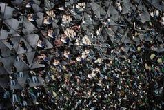 Внутри кристалла Стоковое Фото