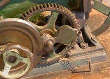 Внутри механизма, старой машины стоковые изображения rf
