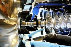 Внутри мира металла двигателя силы Стоковые Изображения RF