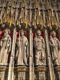 Внутри монастырской церкви Йорка стоковое фото rf