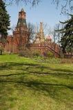 Внутри Москвы Кремля, Москва, русский город Вашингтон, Российская Федерация, Россия Стоковые Фото