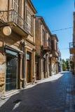Внутри огороженный город Никосии Кипра Стоковое фото RF