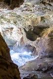 Внутри пещеры Нептуна на Сардинии, Италия Стоковая Фотография RF