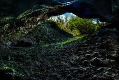 Внутри пещеры Стоковые Фото