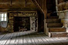 Внутри пионерского дома Стоковое фото RF