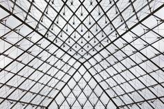 Внутри пирамиды жалюзи стоковая фотография rf