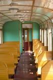 Внутри поезда Стоковое Фото