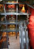 внутри помещения взгляд мола Стоковая Фотография