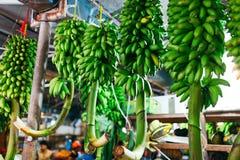 Внутри помещения свежий рынок фруктов и овощей в мужчине города, столица Мальдивов Стоковое фото RF