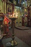 Внутри праздников церков Стоковое Фото
