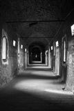 Внутри средневекового замка Стоковые Фотографии RF