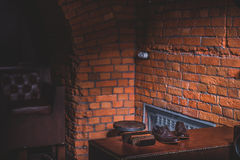 Внутри старого здания Стоковое фото RF