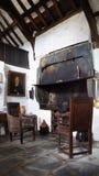 Внутри старого столба Ofiice в Tintagel Стоковое Изображение RF