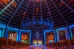 Внутри столичный собор Христос король Ливерпуль стоковое изображение rf