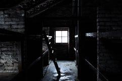 Внутри сурового лагеря стоковая фотография rf